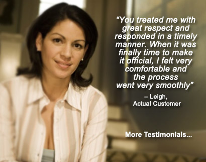A Happy client explaining the quality of service at Action Immigration Bonds